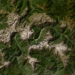 地図 - トロポヤ県 (Rrethi i Tropojës) - MAP[N]ALL.COM