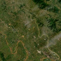 地図 - ヴィンフック省 (Tỉnh Vĩ...