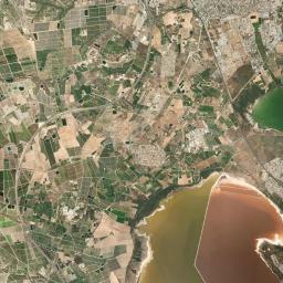 Karta Fran Alicante Till Torrevieja.Karta Torrevieja Map N All Com