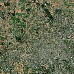 Growth of a part of Ludhiana city in Punjab