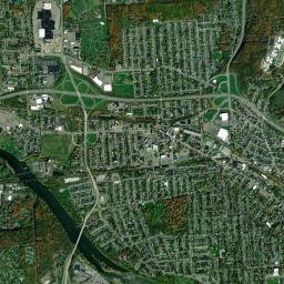 Binghamton University Campus Map