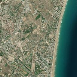 San Juan Alicante Mapa.Mapa San Juan De Alicante Map N All Com