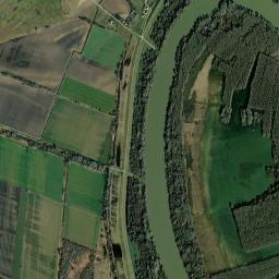 baks térkép Baks műholdas térkép   Magyarország térkép