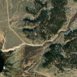 Taylor Park Colorado Map.Taylor Park Reservoir Co Fishing Reports Map Hot Spots