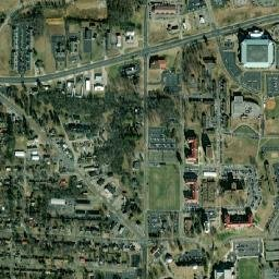 murray state university campus map Murray State University Main Campus Map murray state university campus map