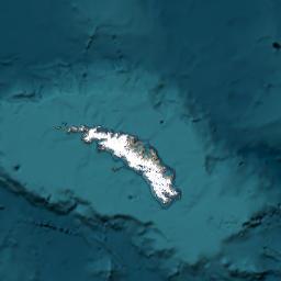 Mapa Islas Georgias Del Sur Y Sandwich Del Sur Territorio