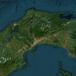 Mapa - Provincia de Veraguas - MAP[N]ALL COM