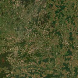Žemėlapis - Kaliningrado sritis (Kaliningradskaya Oblast