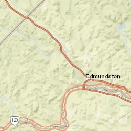 St John River Maine Map.Usgs Site Map For Usgs 01014000 St John River Below Fish R Nr Fort
