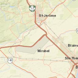 Ville De Montreal Civil Security Center Map Of Fire Stations