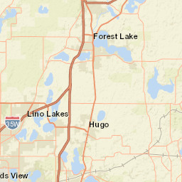 Hugo Minnesota Map.Historic And Current Section Maps Hennepin County