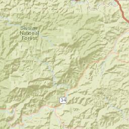 Alsea Oregon Map.Usgs Site Map For Usgs 14306340 East Fork Lobster Creek Near Alsea Or