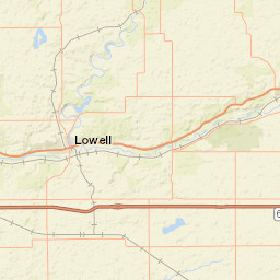 USGS Site Map for USGS 04108800 MACATAWA RIVER AT STATE ROAD NEAR