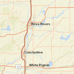 Howe Indiana Map.Usgs Site Map For Usgs 04099750 Pigeon River Near Scott In