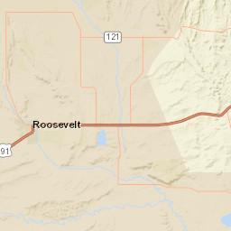 USGS Site Map for USGS 09295000 DUCHESNE RIVER AT MYTON, UT Duchesne County Maps on