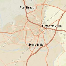Council District Maps Fayetteville Nc