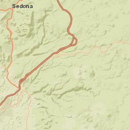 USGS Site Map for USGS 09507480 FOSSIL CREEK NEAR STRAWBERRY, AZ Fossil Creek Az Map on