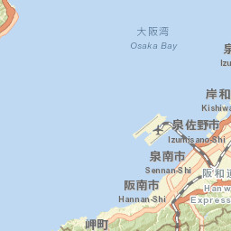 A four-day itinerary for the cities around Osaka Bay, Japan