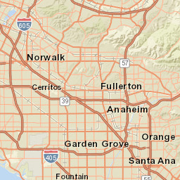 Santa Ana Fire Map.This Map Shows The Devastation Of The Southern California Fires Sfgate