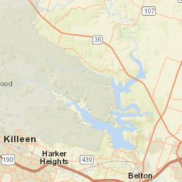 USGS Site Map for USGS 08104100 Lampasas Rv nr Belton, TX