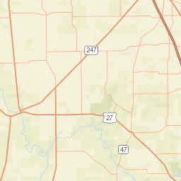 Usgs Site Map For Usgs 02323000 Suwannee River Near Bell Florida