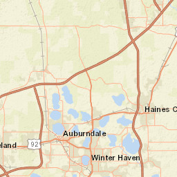 USGS -- Groundwater Watch Zephyrhills Map on