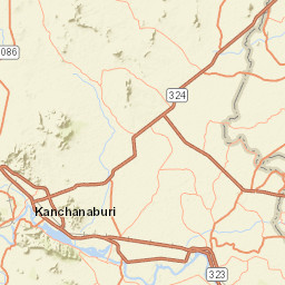 Internet map server จังหวัดกาญจนบุรี