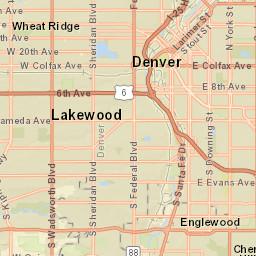 LFR District Map (Legacy)   Littleton CO