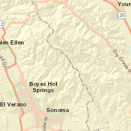 Rohnert Park Fire Map.This Map Shows The Devastation From The Northern California Fires