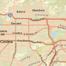 San Gabriel Valley Zip Code Map.Resident School Identifier