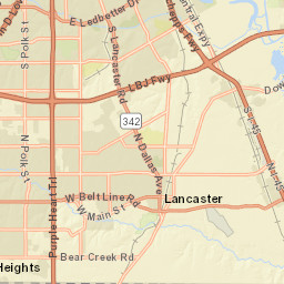 Map | Visit Grand Prairie, Texas