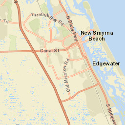 Edgewater Florida Map.City Council Home Edgewater Florida