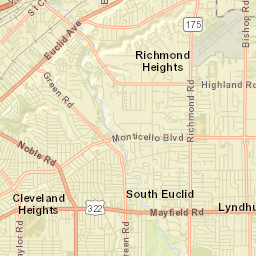Mayfield Ohio Map.Ohio River Mile Map Viewer