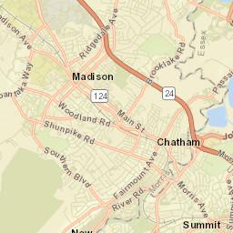 Union County Nj Map
