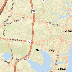 NJDEP-Wreck Pond-Data Map