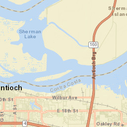 ArcGIS - MAP ANTIOCH CA