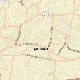 Mt Juliet Area Tdot Traffic Counts