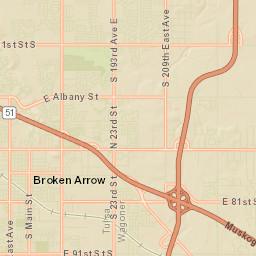 Broken Arrow Public Schools District Map