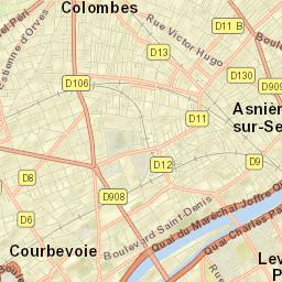 Plan Neuilly Sur Seine 92 Carte Neuilly Sur Seine
