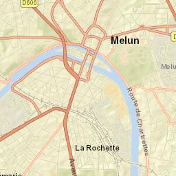 Plan de Melun - Voyages - Cartes