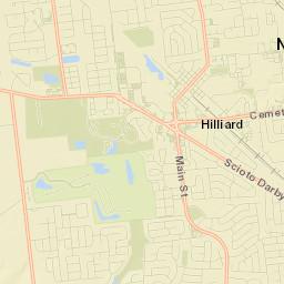 Hilliard Zip Code Map.Usps Com Find Locations