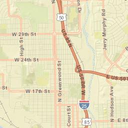 Pueblo, Colorado - Regional Bicycle and Multi-Use Trail Map