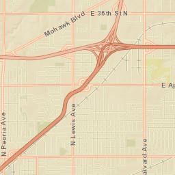 INCOG Tulsa County Floodplain Map