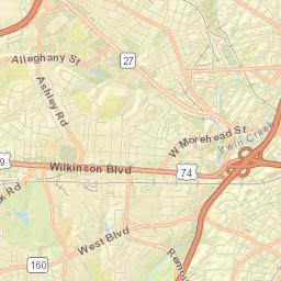 28201 Zip Code Map.Usps Com Find Locations