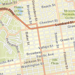 Pacific Heights San Francisco Map.Pacific Heights San Francisco Ca Report Potholes Graffiti