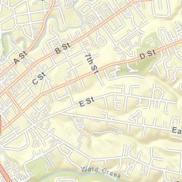 Hayward Ca Zip Code Map.Hayward Area Recreation And Park District Ca