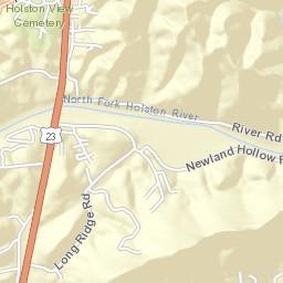 Hwy 23 Bridge/Webber City - North Fork Holston River
