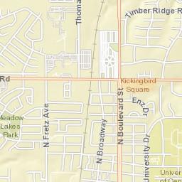 map of edmond ok streets