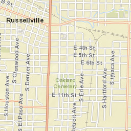 Russellville Arkansas Map.Russellville Ar Official Website