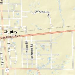 Chipley Florida Map.Chipley Fl